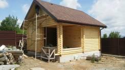 Стоительство домов и бань
