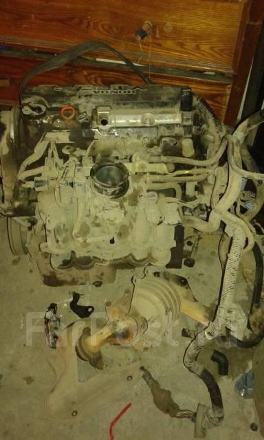 Двигатель в сборе. Honda Civic Двигатель D15B