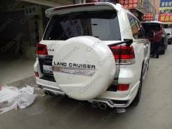 Обвес кузова аэродинамический. Toyota Land Cruiser, VDJ200, URJ202W, URJ202 Двигатели: 1URFE, 1VDFTV