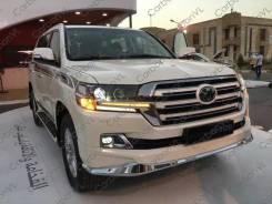 Обвес кузова аэродинамический. Toyota Land Cruiser, VDJ200, URJ202, URJ202W Двигатели: 1URFE, 1VDFTV