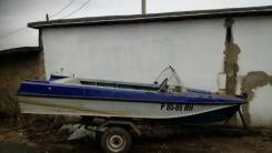 Казанка-5М2. Год: 1990 год, длина 4,60м., двигатель подвесной, 1,00л.с., бензин