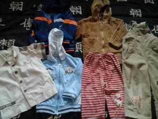 Детская одежда одним лотом. Рост: 80-86, 86-98 см