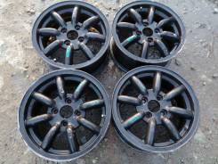 Black Racing. 6.0x14, 4x100.00, ET38