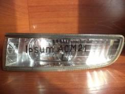 Крепление противотуманной фары. Toyota Ipsum, ACM21, ACM26 Toyota Picnic Verso, CLM20, ACM20 Toyota Avensis Verso, ACM20, CLM20 Двигатели: 2AZFE, 1AZF...