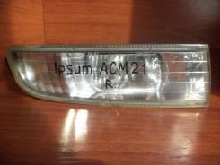 Крепление противотуманной фары. Toyota Ipsum, ACM21, ACM26 Toyota Picnic Verso, CLM20, ACM20 Toyota Avensis Verso, CLM20, ACM20 Двигатели: 2AZFE, 1AZF...
