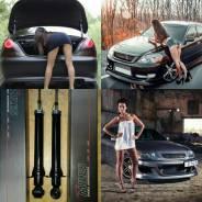 Амортизатор. Toyota: Chaser, Mark II Wagon Blit, Verossa, Mark II, Cresta Двигатели: 1GFE, 1JZGTE, 1JZGE, 1JZFSE