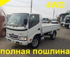 Toyota Toyoace. 4WD, борт, 3 000 куб. см., 1 500 кг.