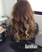 Наращивание волос, коррекция волос, снятие.
