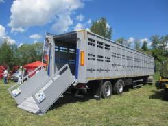 Тонар 98262. В Наличии! скотовоз полуприцеп (перевозка КРС, свиновоз), 22 000 кг.