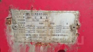 Korea Trailer. П/прицеп контейнеровоз HCG 40XNB, 31 000кг.