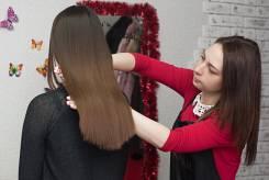 Требуется модель на кератиновое выпрямление волос