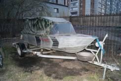 Windboat. длина 4,20м., двигатель подвесной, 20,00л.с., бензин