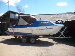 Ладога-2. длина 4,70м., двигатель подвесной, 55,00л.с., бензин