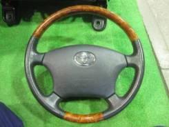 Руль. Toyota: Celsior, Hilux Surf, Alphard, Camry Gracia, Brevis, Aristo, Hiace, Avensis, Land Cruiser Prado, Camry, Avensis Verso, Avalon, Chaser, Co...