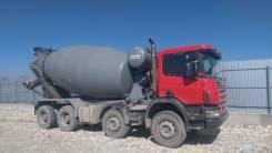 Scania. Автобетоносмеситель Скания 8#4, 12 000 куб. см., 10,00куб. м.