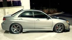 Накладки на бампер Subaru Impreza 2001-2002 GDA