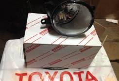 Фара противотуманная. Toyota: Corolla, Corolla Verso, Yaris, Corolla Rumion, RAV4, Noah, Coaster, Vitz, XA, Ractis, Wish, Highlander, Sai, Auris, Coro...