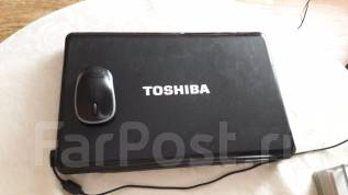 "Toshiba Satellite A660-156. 17"", 2,3 ГГц, диск 500 Гб, WiFi"