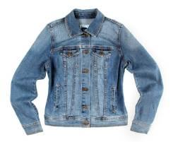 Куртки джинсовые. 44, 46