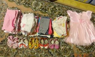 Пакет вещей для девочки 70-80 см. Рост: 60-68, 68-74 см
