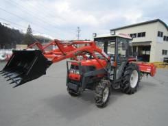 Kubota. GL338 трактор с закрытой кабиной, фрезой и фронтальником!. Под заказ