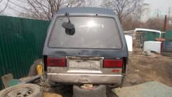 Дверь багажника. Nissan Vanette Largo, KUGNC22 Двигатель LD20T