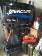 Mercury. 25,00л.с., 2х тактный, бензин, нога S (381 мм), Год: 2014 год