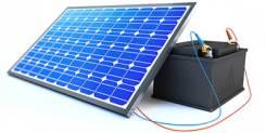 Солнечная электростанция 'Телевизор на даче'