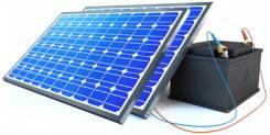 Солнечная электростанция 'Холодильник на даче 3'