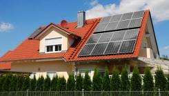 Солнечная электростанция для резервного электроснабжения дома