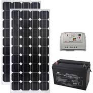 Солнечная электростанция для автономного освещения 'Свет-200'