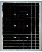 Монокристаллическая солнечная батарея (панель) 30 вт