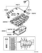 Блок клапанов автоматической трансмиссии. Mitsubishi Challenger, K99W Mitsubishi Pajero, V65W, V75W, V78W, V97W, V77W, V87W, V68W