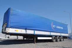 Krone. Полуприцеп борт тент 2007 г, 39 000 кг.