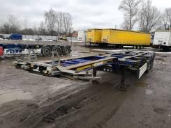Schmitz S.CF. Раздвижной контейнеровоз Schmitz SCF 2011 года, 33 300 кг.