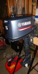 Yamaha. 5,00л.с., 2х тактный, бензин, нога S (381 мм), Год: 2012 год. Под заказ