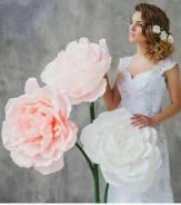 Декоркор для торжеств, оформление фотозон гигантскими цветами