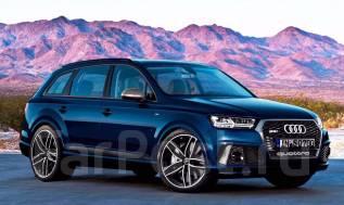 """[r20.store] Комплект Диски R22 S-line для Ауди (Audi) Q7. 9.5x22"""", 5x130.00, ET45. Под заказ"""
