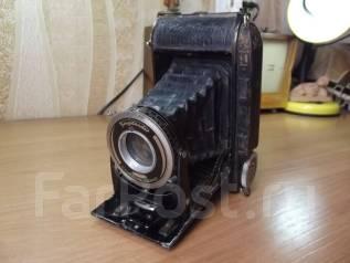 Старинный германский фотоаппарат - гармошка Voigtlnder Bessa 66. Оригинал
