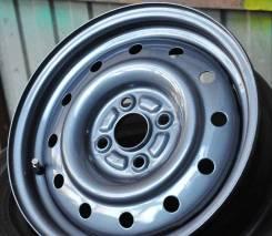 Steel Wheels. 5.0x14, 4x100.00, ET40, ЦО 54,1мм.