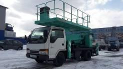 Aichi TZ. Продаётся автовышка платформа бп по РФ Isuzu Elf 2001гв, 4 600 куб. см., 13 м.