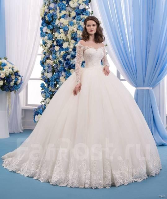 Платье свадебное пышное 2017