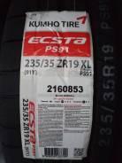 Kumho Ecsta PS91. Летние, 2017 год, без износа, 2 шт