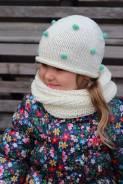 Шапка и шарф. Рост: 80-86, 86-98, 98-104, 104-110 см