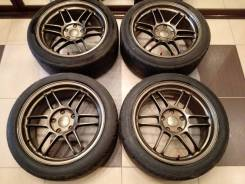 AME Tracer TSSC. 8.0/9.0x17, 5x114.30, ET35/45