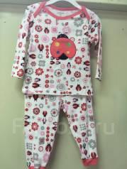 Пижамы. Рост: 50-60, 60-68, 68-74, 74-80, 80-86, 86-98 см