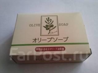 Натуральное оливковое мыло . Япония !