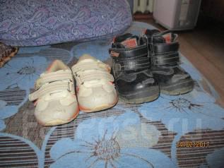 Обувь на мальчика. Кроссовки и ботинки. 21, 22