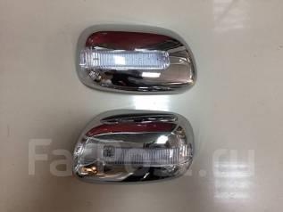 Накладка на зеркало. Toyota Corolla Fielder, ZZE124G, NZE121G, NZE124G, ZZE122G, ZZE123G, CE121G Двигатели: 1ZZFE, 1NZFE, 2ZZGE, 3CE