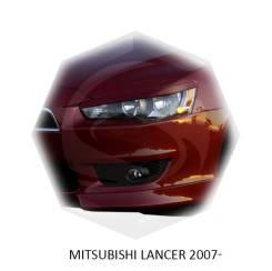 Накладка на фару. Mitsubishi Lancer X Mitsubishi Lancer